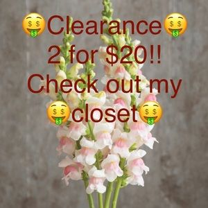 🤑2 for $20 Items Clearance!🤑